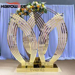 New Style Esszimmer Divider Edelstahl Bildschirm Hochzeitsdekoration Hintergrund