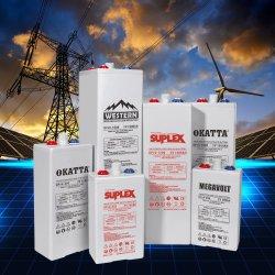 Opzv-2V-Gel Tubular/SLA/Deep-Cycle VRLA UPS Industrial/Inversor Solar-Panel Backup-Power-Batteries 250Ah-3000ah Substituir Opzs-Battery
