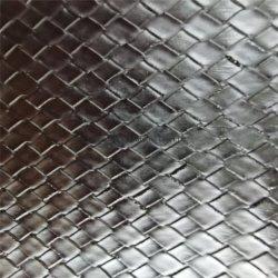 El patrón de tejido negro Bolsa Maleta equipaje utilizar PVC cuero