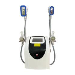 مقبض مسحوبَين للمنحرفين Cool Body Sculpt Cryolulsis Slimming Machine مع الموجات فوق الصوتية والترددات اللاسلكية