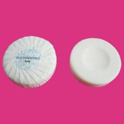 Runde Seife mit Plissee Wrapper für Hotel Toilette Zimmer mit