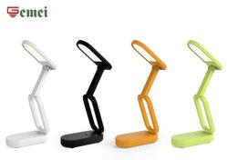 Хорошее качество светодиодный индикатор/ современный стиль просто /декоративные LED настольные лампы красочные / портативный складной с 3 ступенчатый выключатель