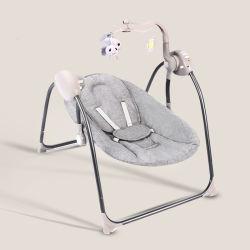 A103 eléctrico gris bebé Mecedora silla columpio