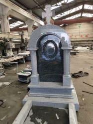 G603 및 Shanxi Black Granite Tombstone 및 Monument Design