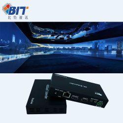 BitVisus Factory Pure Hardware Design 고품질 HDMI Extender 4K 60m PoE HDBaseT Extender Rx Tx HDMI Extender 60m 이상 CAT6