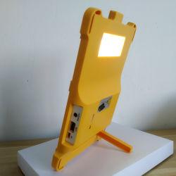 Candeeiro de mesa Solar LED candeeiro de secretária interior exterior branco noite acende as luzes de mesa Solar pátio com jardim
