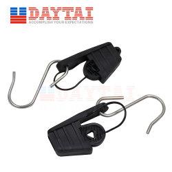 El tensor PARA EL CABLE DE BAJADA FTTH S Cable tipo Drop abrazadera de plástico con gancho