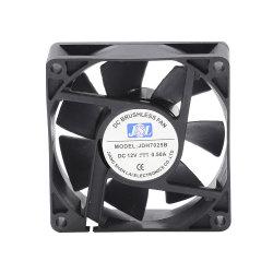 Ce el ventilador de 70X70X25 110V 230V El voltaje del rodamiento de bolas/cojinete de manguito pequeño ventilador axial de ruido del ventilador de refrigeración