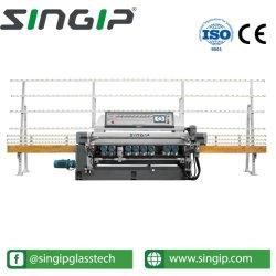 PLCが付いているSxm371p 11スピンドルガラス直線斜角が付く機械