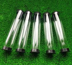 Tube d'emballage en plastique transparent de tuyaux en PVC PA PC See-Through Tube en plastique du tube en polycarbonate