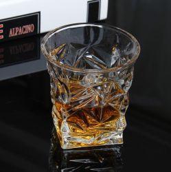 Verre de gros Wine Tumbler tasses en verre de vin en verre de whisky de diamant