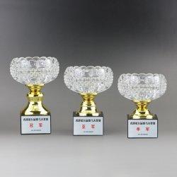 Les courses de chevaux Trophée en verre, Trophée de Golf, sports de détail de gros de souvenirs