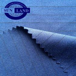 Traje de Trabajo material activo Anti-Static Stripe poliéster Spandex tejido elástico Tejido Jersey