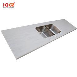 Countertop van de keuken Marmeren Plakken van het Vernisje van de Nieuwe Producten van de Steen van de Muur de Kunstmatige