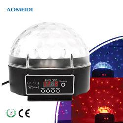 6X1w Mini-RGB LED-Effekt-Disco DJ-Beleuchtung für Weihnachten drehend