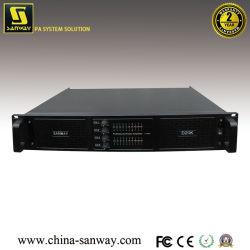 Sanway Fp20000Q D20K 4 канал 4X4000W аудио усилитель мощности, DJ профессиональное аудио усилитель мощности для 18-дюймовый низкочастотный громкоговоритель