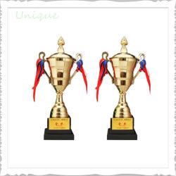 Personalizado de la Copa de la fábrica al por mayor premio de honor del deporte de metal y resina de plástico/Aleación de zinc/Acero Inoxidable Oro Plata Trofeo campeonato
