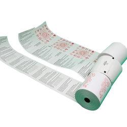 Unbelegtes Cash Register Thermal Paper Roll 80X80 für Supermarket