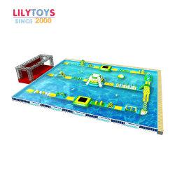 0,9 mm de PVC Aqua Parc de l'eau projets Gonflables de piscine