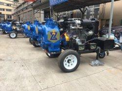 Moteur diesel d'eaux usées centrifuge à amorçage automatique la pompe à eau/huile Pompe pompe de transfert/boue