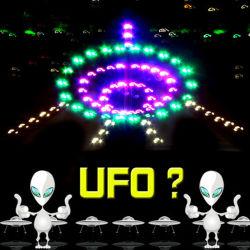 Bester verkaufender Nacht-UFO-Drachen des im Freiensport-Spielzeug-grosser LED mit Lampen