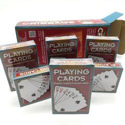 Carte à jouer d'impression personnalisé de haute qualité du papier de gros de la carte de jeu de Poker pour la promotion de la carte