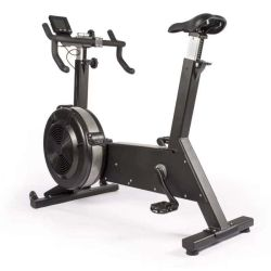 Bici di esercitazione commerciale dell'aria di ginnastica della bici di rotazione di resistenza del vento della strumentazione di forma fisica di esposizione di sport della Cina
