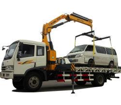 3 Tonnen Straßewrecker-LKW-FAW gegliederte Hochkonjunktur-Kranwrecker-anhebende LKWas