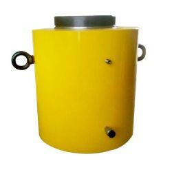Телескопические гидравлические домкраты напряженности ультратонкие 10 тонн гидравлического цилиндра