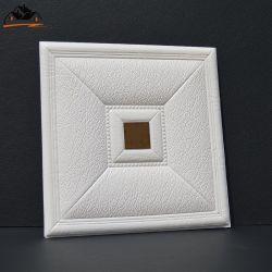 ミラー3Dの壁パネルのステッカーが付いているQuadrateの壁のタイルのパネル