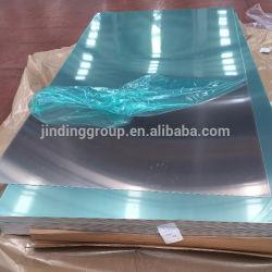 Chapa de aluminio con placa de la película de PVC