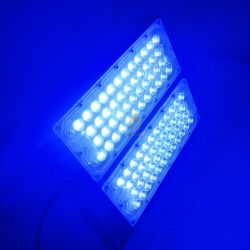 Imperméable IP65 200W rose/rouge/vert/bleu Projecteur à LED de couleur pour le parc de loisirs de plein air paysage marin de l'Aquarium de décoration de l'éclairage