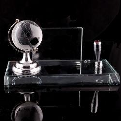 Porte-stylet de cristal de haute qualité et le nom Carte (KS06050)