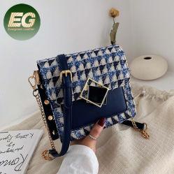 Мода спицы Bag сумки Bolsas Femininas De Luxo ткань Crossbody взять на себя зимние мешки для SH1261