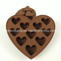 Silikon-Schokoladen-Form-Kuchen-Form-Gummispielzeug-Form