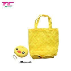 Многоразовые Morecredit магазинов сумки Большой 50фунта Симпатичные животные дизайн для машинной стирки складная брелоки сумки