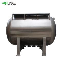 De 6000 litres Horizonta personnalisé l'eau chaude du réservoir d'isolation du réservoir de stockage
