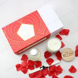 Роскошный свадебный подарок ароматические свечи стекла с диффузором расширительного бачка