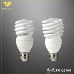 Energie - Gloeilamp van het Halogeen B22/E27 van de Bol van T2 T3 CFL van de Lamp van de besparing 15W 20W de Volledige/half Spiraalvormige Lichte