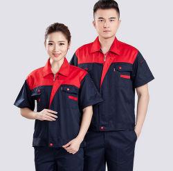 65% 35% di marchio uniformi poco costose su ordinazione del Workwear della camicia e della mutanda del poliestere del cotone