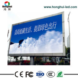Farbenreiches wasserdichtes P10 LED Panel der im Freien örtlich festgelegten Installations-