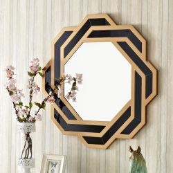 Современный дизайн черный кадр восьмиугольной стены для наружного зеркала заднего вида