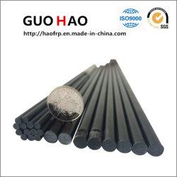 Varilla de fibra de vidrio, materiales de construcción sólida de productos químicos/duradero de la ronda de la barra de FRP (GH B001)
