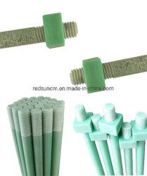 絶縁のエポキシのガラス繊維強化プラスチックFRP Fr4 Fr5 G11 G10によって通される棒ねじボルトおよびナット