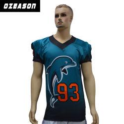 La conception de votre propre fait sur mesure maillots de football américain de gros (AF019)