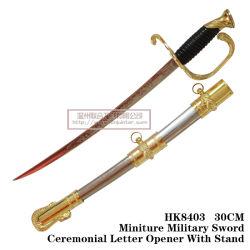Carta Cavaleiro do abridor espadas espadas medievais decoração de mesa espadas 30cm