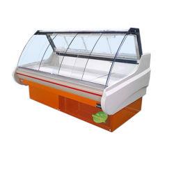 De VoorSupermarkt van uitstekende kwaliteit Refriger van de Vertoning van het Vlees van het Venster/Diepvriezer 1 van het Vlees Koper