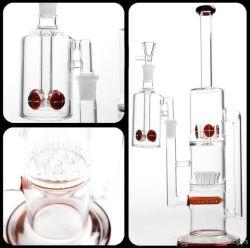 Tubo de água de vidro e plataformas de DAB e tubo de fumar boa função e Base de espessura