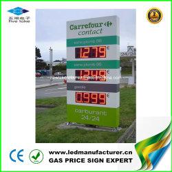 Systèmes d'affichage des prix à LED pour station d'essence (12pouces)