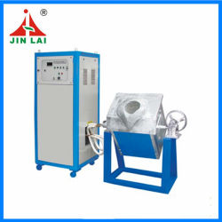Horno Eléctrico Industrial de Fusión por Inducción para Cobre, Acero, Aluminio y Oro